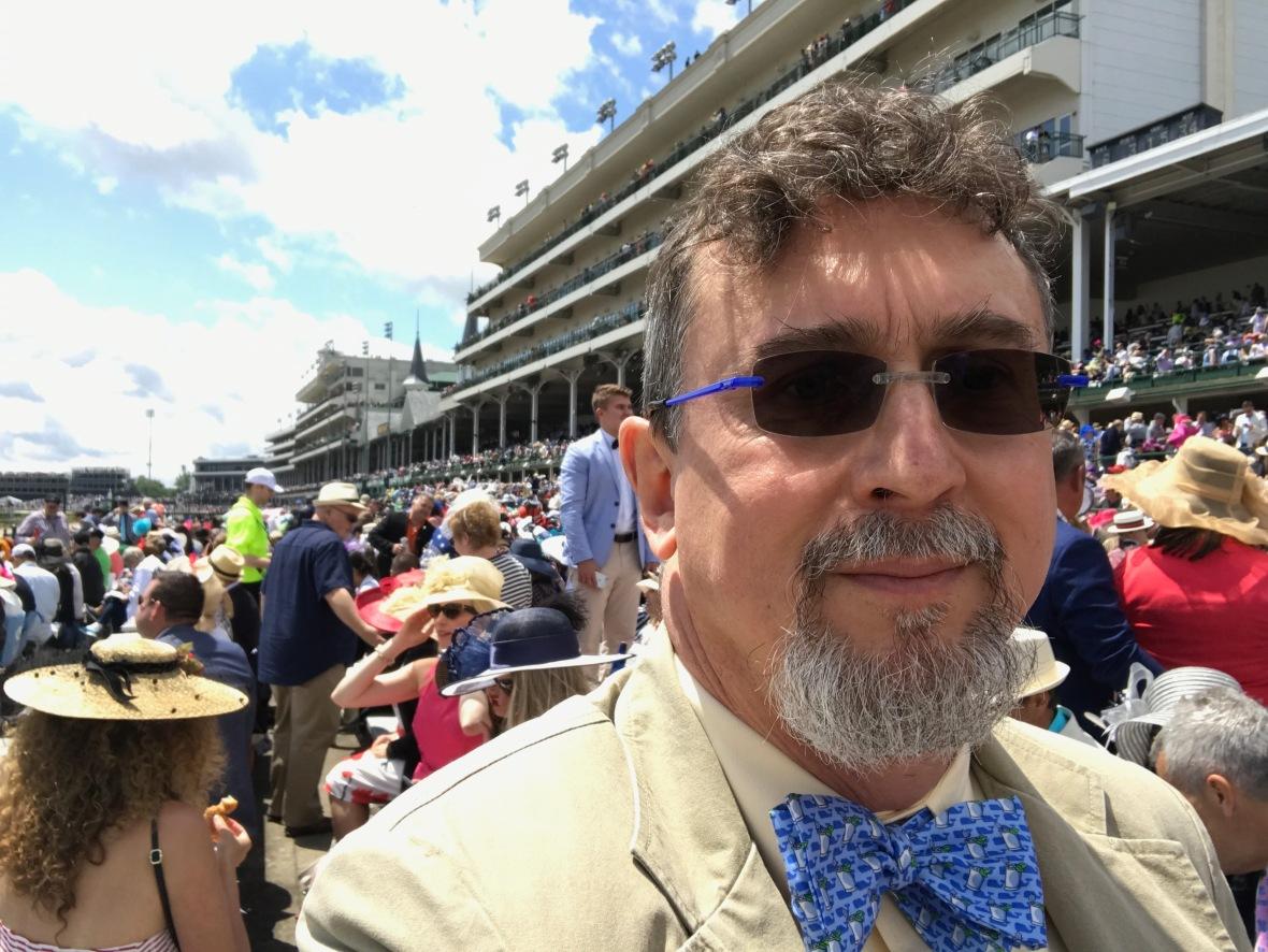 Professor Peter Fosl at the Kentucky Derby